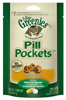 Greenies Pill Pockets For Cats. Chicken Flavor 1.6oz