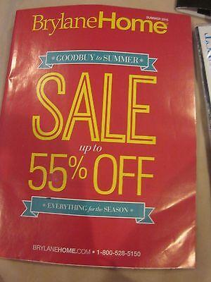 Brylane Home Catalog Goodbuy To Summer 2015 Furnishings Decor Brand New Ebay