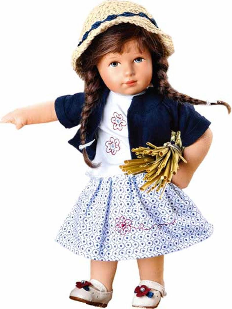 Käthe Kruse Puppen Kleidung Goldkind Lilo 28 cm 28502