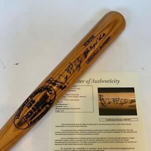 Beautiful Catfish Hunter Signed Louisville Slugger Game Model Bat With JSA COA