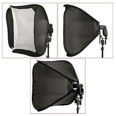"Neewer 16""/40cm Portable Foldable Softbox Kit f  Nikon,Canon&Small Strobe Flash"