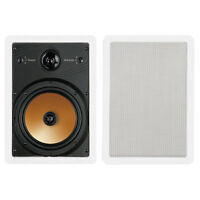 Bic Acoustech Ht-8w 8 3-way Concentric In-wall Speaker Pair