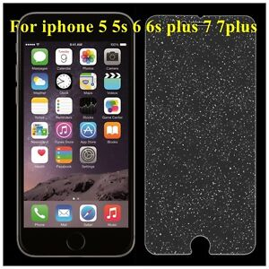 size 40 b9960 b8a15 Details about Diamond Tempered Glass Sparkle Glitter Screen Protector for  iPhone 7 5 6s plus