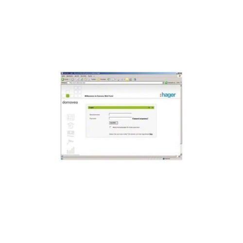 Hager Fernzugriff TJ550 Bussystem-Software Fernzugriff