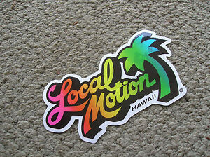 Local-Motion-Hawaii-surfboard-vintage-sticker-surfing-1980s-surfer-longboard-hot