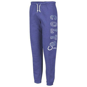 510ab510 Details about Indianapolis Colts Women's Tapered Fleece Pants / Sweats -  Royal Blue