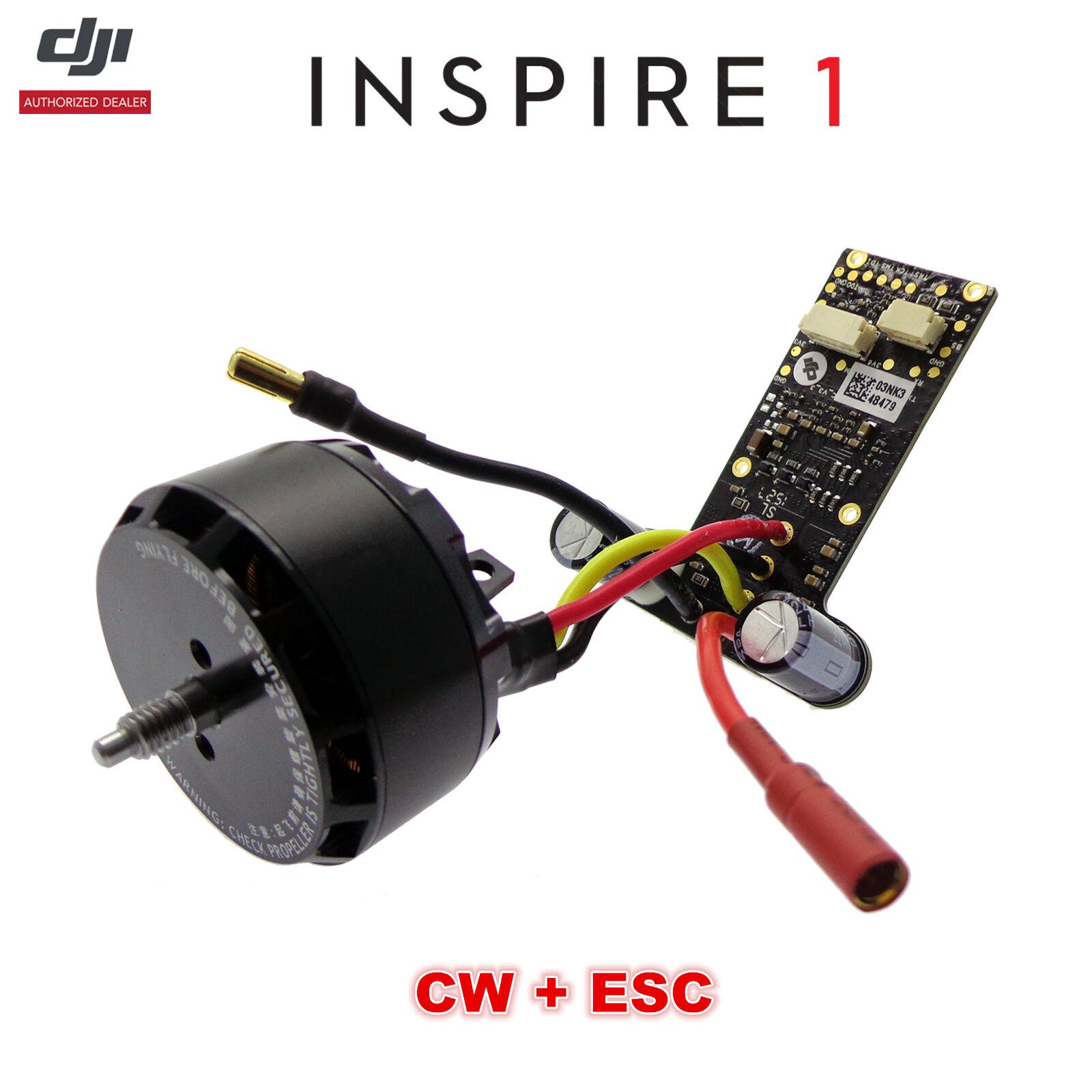 DJI Inspire 1 Drone WM610  Part 4 3510 350KV Brushless CW Motor, ESC Components