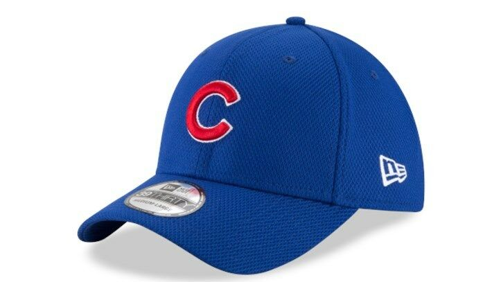 Chicago Cubs New Era Stretch Diamond Era 39Thirty Classic Stretch Era Fit Cap New With Tags 1f4d0d