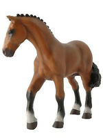 Papo Competition Horse Equestrian Toy Animal Figure Pretend Play Stall 51077
