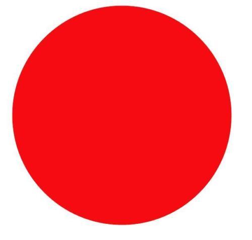 Markierungspunkte Klebepunkte 40mm Leuchtrot Rot 24 48 72 96 120 144 168 192 216