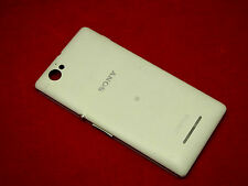 Original Sony Xperia M C1905 Akkudeckel Rück Deckel Backcover Bettery Cover weiß