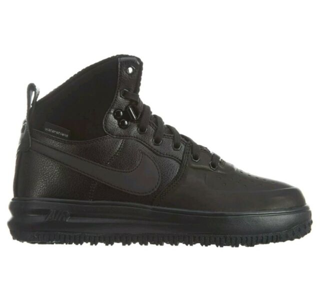 the latest 80053 a4c7d NIKE LUNAR FORCE 1 SNEAKERBOOT (GS) STYLE   706803-002 Black Size 3.5