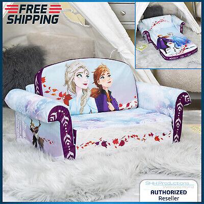 Flip Sofa Bed Open Foam Kids Child Toddler Bedroom Seat Couch Play Frozen 2 In 1 Ebay