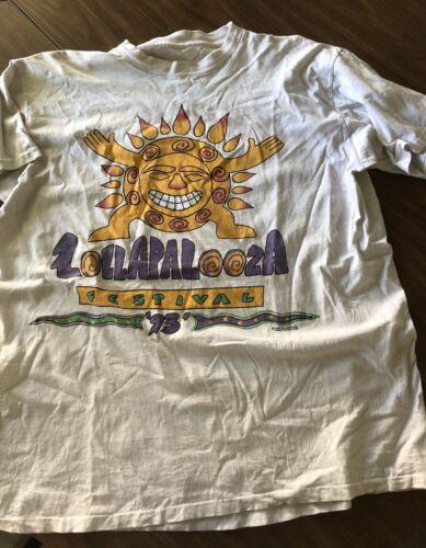 Vintage Lollapalooza T Shirt Giant Sebadoh Alice I