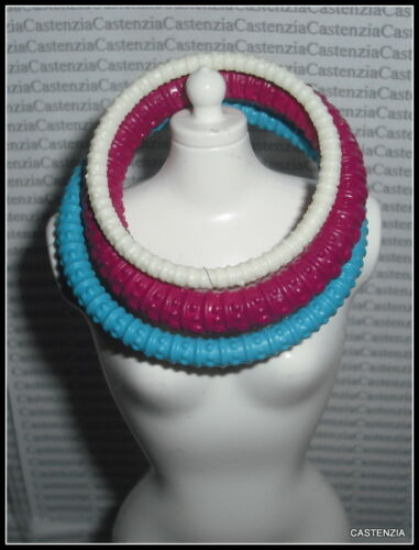 JEWELRY BARBIE DOTW PRINCESS OF SOUTH AFRICA COLORFUL TRIBAL NECKLACE ACCESSORY