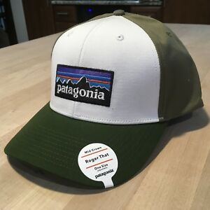 Patagonia P6 Logo Roger That Hat - New With Tags - White With Glades ... 0f35d8cce387