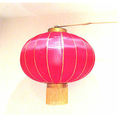 "26"" Silky Red Chinese Lantern (Pair) Ideal Chinese NY, All Occasions Decorations"