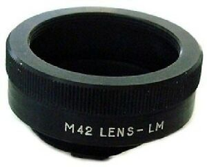PHOTO ADAPTER Pentax M42 lense to Leica M mount camera Digital and Film Bessa T