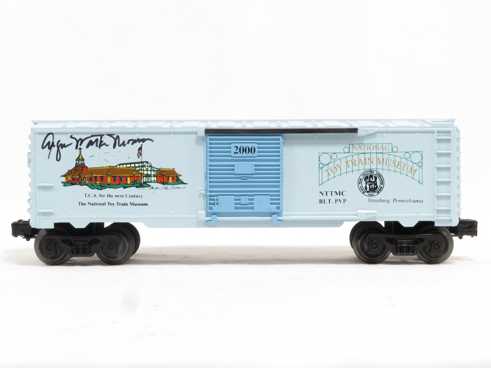 LIONEL 2000 National Toy Train Museum 2000 Signed Angela Tredta Thomas NIB