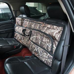 Homcom Back Seat Gun Rifle Safe Bag Case Organizer Storage Pocket