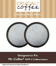 2PK Water Filter Replacement Disc To Fit Mr. Coffee Replaces WFF-3 113035-001-00