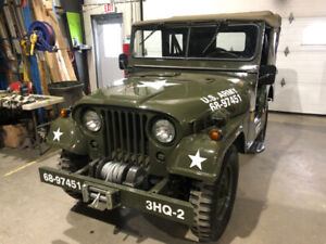 1967 M38A1  Willys Army Jeep Military
