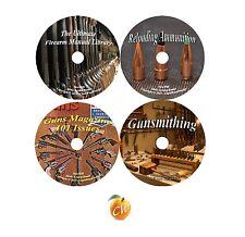 Firearm Master Series Gun Manuals Reloading Gunsmithing Guns Magazine 4 DVD Set