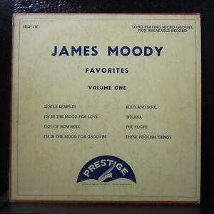 James-Moody-Favorites-Volume-One-10-034-LP-VG-PRLP-110-Mono-1st-Vinyl-Record