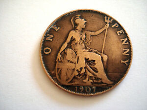 piece de monnaie one penny