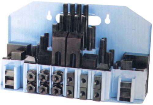 Spannwerkzeugsatz 58-teilig T-Nuten 18mm 16mm 14mm 12mm 10mm  M16 M14 M12 M10 M8
