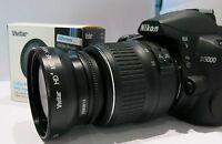 Wide Angle+ Macro Lens for Nikon D3100 D3200 D3000 D5100 D5000 D60 D10X D50 D40