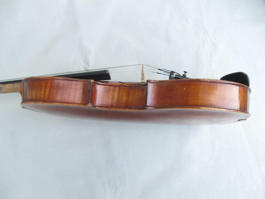 Antique Old 4 4 4 4 Full Größe c.1900 Handmade Masterpiece Violin with Case and Bow fa1a3b