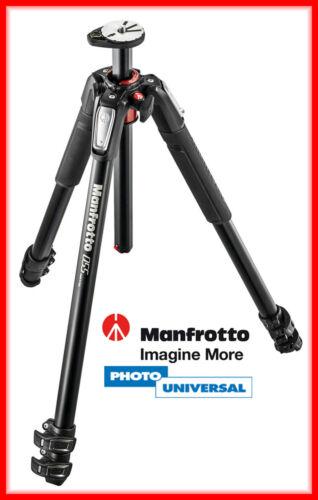 Manfrotto Treppiede in alluminio 055xpro3//MT 055 XPRO 3 mezzi orizzontale pilastro