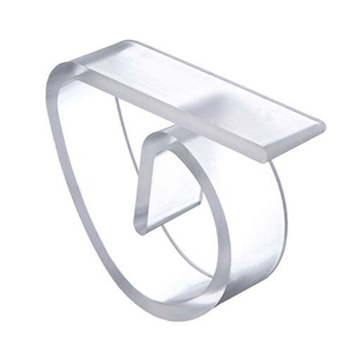 Plastic Clear Tablecloth Table Cover Clips Holder Clamps For Party Wedding A*