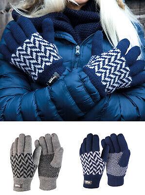 Risultato Inverno Essentials Pattern Thinsulate Guanti (r365x) - Agli Adulti Inverno Caldo-mostra Il Titolo Originale