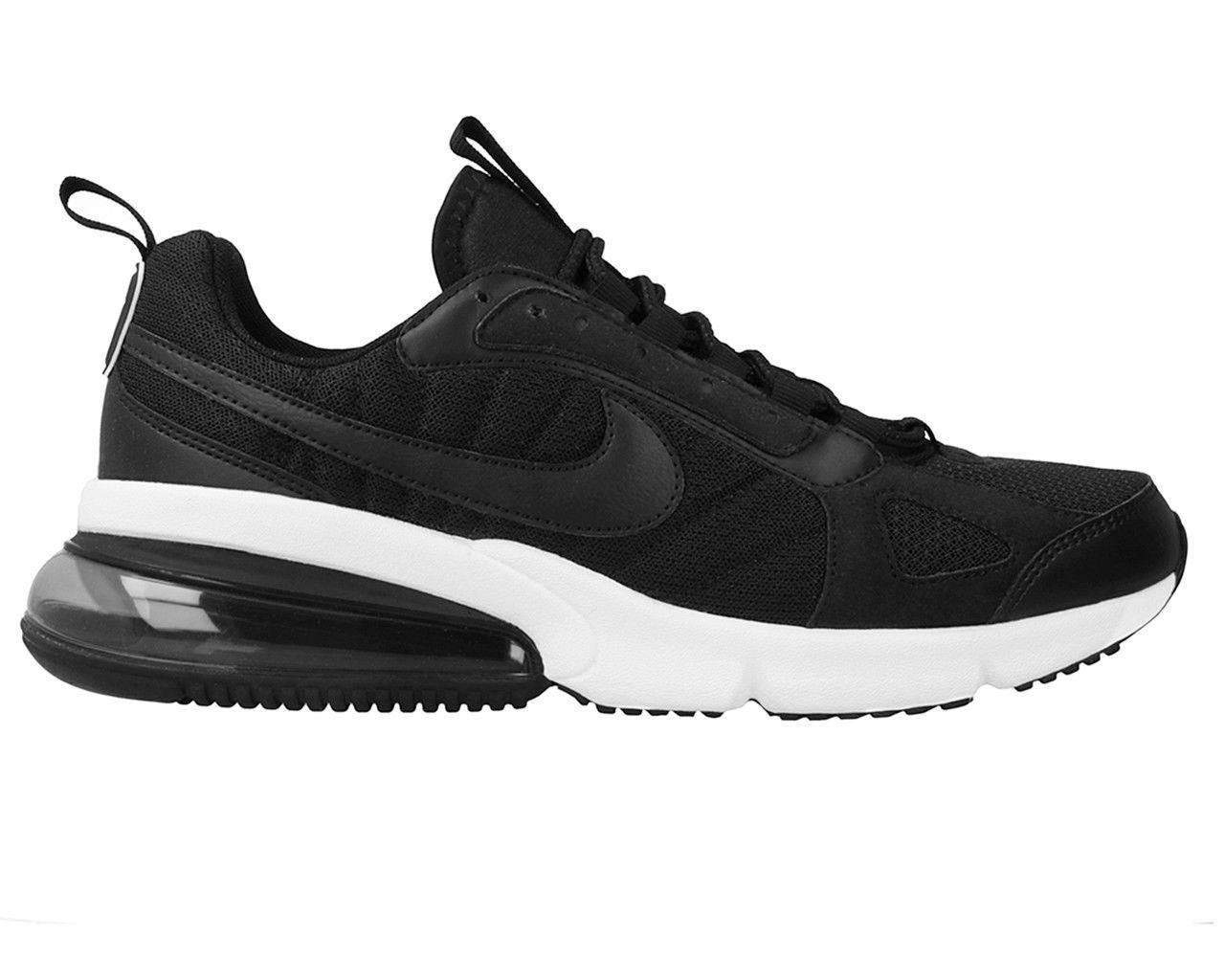 Nike Hommes Nike Air Max 270 Futura paniers Noires (Ao1569 001)