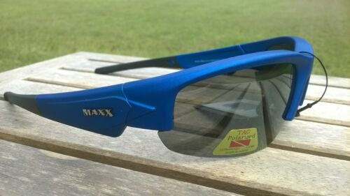 Maxx HD Sunglasses Dynasty HDP 2.0 flat blue Polarized fishing smoke lens B2