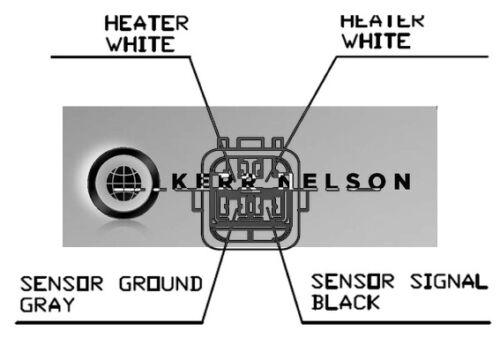 1KR Oxygen Kerr Nelson New PEUGEOT 108 1.0 Lambda Sensor Pre Cat 2014 on CFB