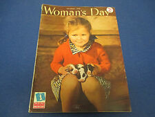 Woman's Day Magazine, October 1942, Homers Kitchen Arsenal, Set Em Up, Dear Anne