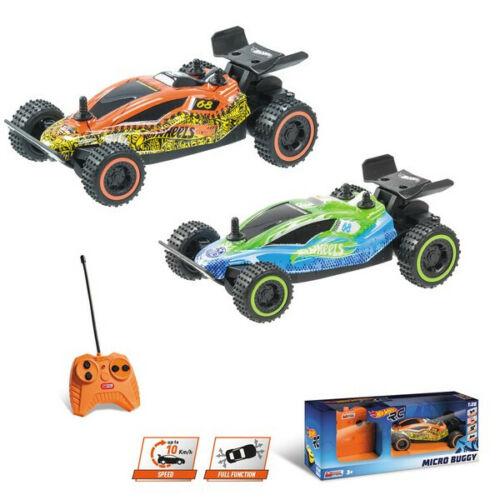 RC HOT WHEELS Buggy 1:28 10km//h Mondo Motors 27//40mhz stuntcar Micro Buggy NEUF