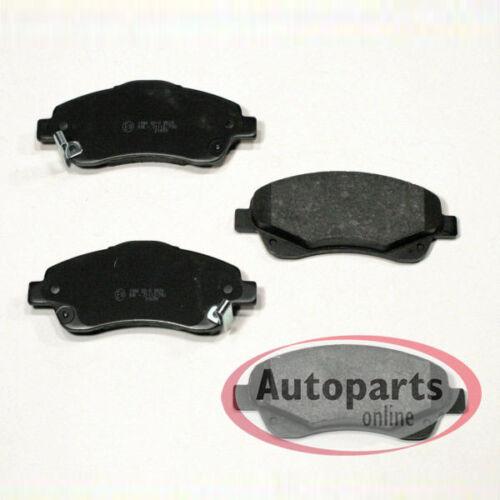 Bremsbeläge Bremsklötze für vorne die Vorderachse Toyota Corolla Verso