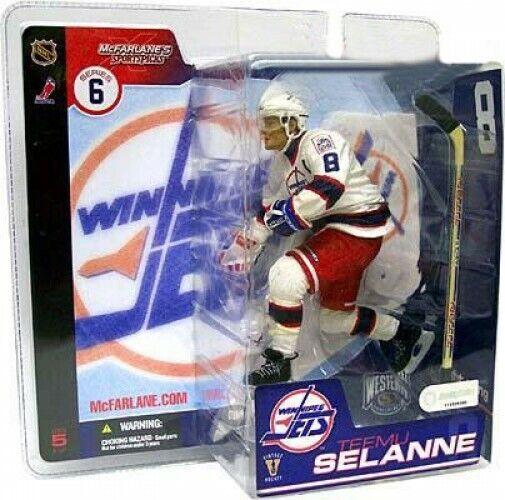 NHL Sports Picks SERIE 6 Teemu Selanne azione cifra [winnepeg JETS]