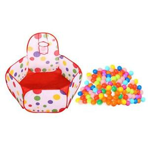 Children-Kids-Ocean-Ball-Pit-Pool-Game-Play-Tent-with-100pcs-Ocean-Balls-TN2F