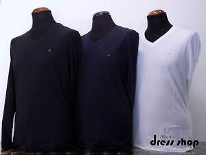 Shirt T Jeans Klein L Nero Calvin Uomo Collo Bianco Manica j30j300640 Art V Blu FaCnaqdHxw