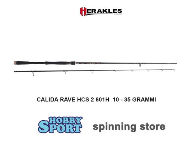 CANNA  SPINNING HERAKLES CALIDA RAVE 1,85 MT  601 H  10-35 GR - COLMIC