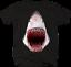 Great-White-Shark-Jaw-Bloody-Mouth-Wide-Open-Fishing-Ocean-Tshirt miniatuur 1