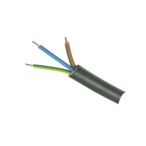 Feuchtraumkabel NYM-J 1x25 mm² Installationskabel Elektrokabel Meterware NEU