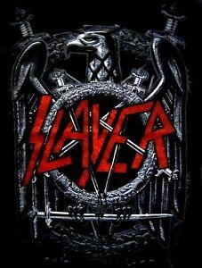 SLAYER-cd-lgo-JUMBO-EAGLE-PENTAGRAM-Official-SHIRT-MED-New-world-painted-blood
