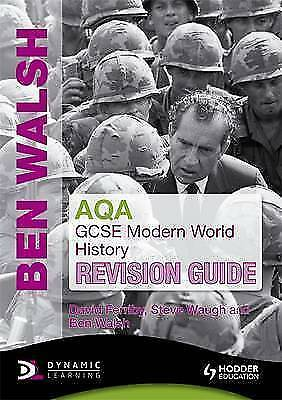 """VERY GOOD"" AQA GCSE Modern World History Revision Guide, Ferriby, David, Waugh,"
