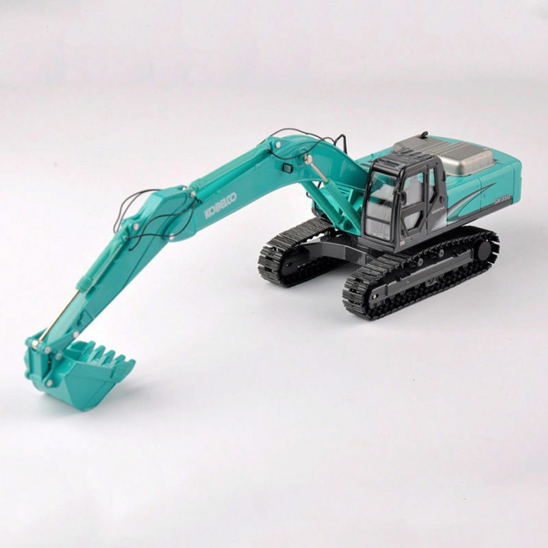 KOBELCO 1 50 Alloy Vehicles Excavator Engineering Car SK-350 Model Toys F Gift